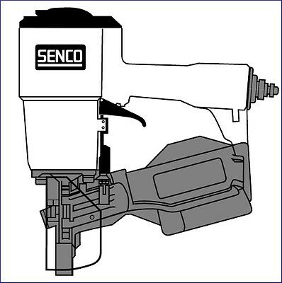 Senco Roofing Nailer SCN200R O-ring Kit