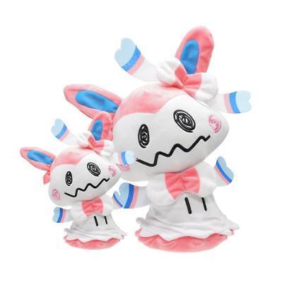 Pokemon Sun and Moon Sylveon Cosplay Mimikyu Plush Toy Stuffed Doll Halloween - Sun And Moon Halloween