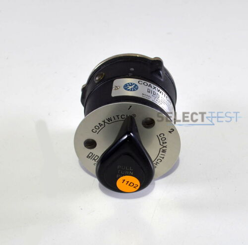 BIRD 7422 COAXIAL SELECTOR SWITCH (COAXSWITCH), 2 POSITIONS, 50Ω, DC - 10 GHz