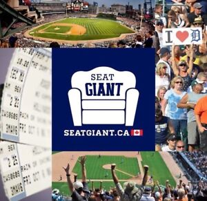 DETROIT TIGERS TICKETS FROM JUST $4 CAD!!!