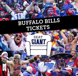 BUFFALO BILLS TICKETS THIS WEEKEND VS DETROIT FROM $9 CAD!!!