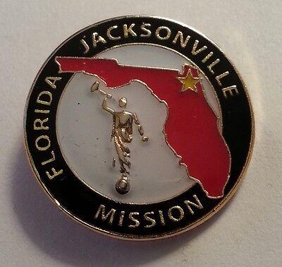 FLORIDA JACKSONVILLE MISSION Lapel Pin mormon (Mission Lapel Pin)