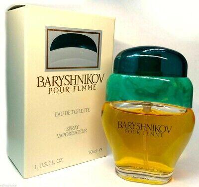 Baryshnikov perfume Eau De Toilette Spray 1.0 FL.oz / 30 ML Woman New in Box
