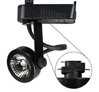 Low-Voltage Black Gimbal Ring Track Light   NEW box - Low Voltage Gimbal Ring
