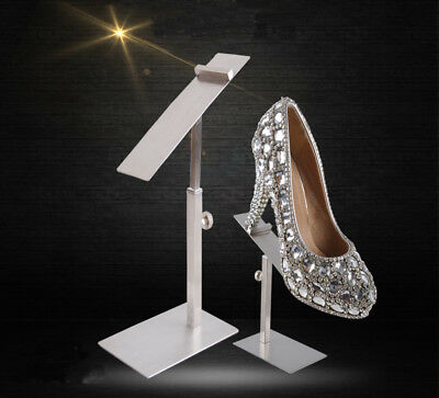 Sandals Shoe Store Hanger Stainless Steel Adjustable Shoes Display Rack Stand