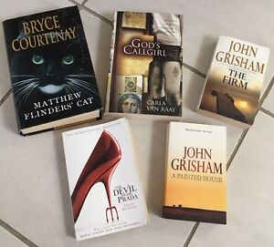 5 x books - $7 for all 5 Adamstown Newcastle Area Preview