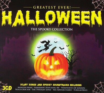 Greatest Ever Halloween: The Definitive Collection Box Set Various (Artist) CD ()