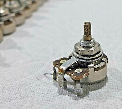 1 - Vintage Stackpole 100k Audio Log Taper Potentiometer Pot Test Within 20