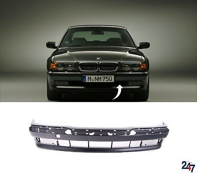 FOR BMW 7 SERIES 1994-1998 E38 NEW FRONT BUMPER CENTER GRILL PAIR BLACK//CHROME