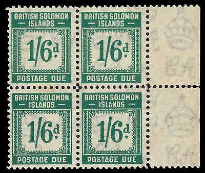 "SOLOMON ISLANDS J8 (SG D8) - Numeral of Value ""Postage Due"" (pa30253) $140"