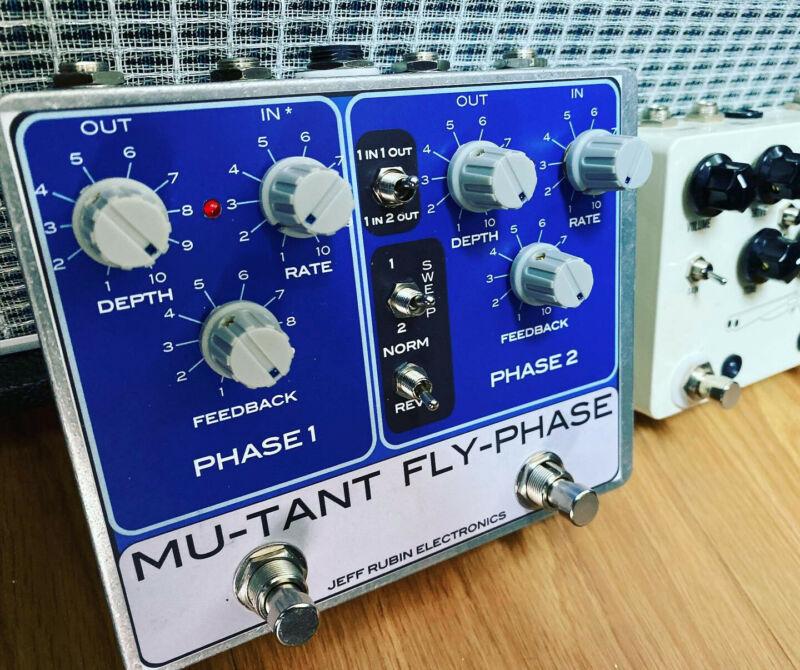 Mutant FlyPhase Guitar Effect mono or stereo MU-TRON BI-PHASE clone