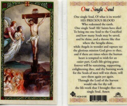 One Single Soul Laminated Card New Laminated From Cromo Italy JimsStoreUSA