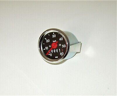 Tachoglas rund für MMB-Tacho Ø48mm