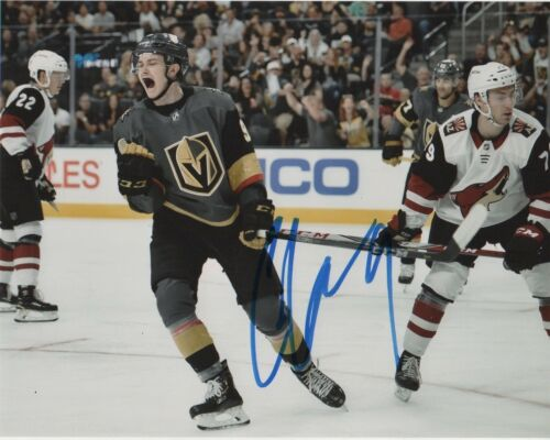 Vegas Golden Knights Cody Glass Autographed Signed 8x10 Photo COA #2