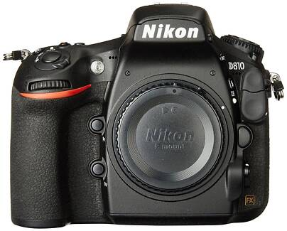 Nikon D810 Body   *MINT Condition:  600 (Hundred) Shutter Count