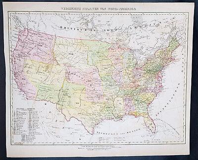 1879 Oregon Map Or Mt Hood Crown Point Imnaha Pendleton Newberg Amity Milwaukie