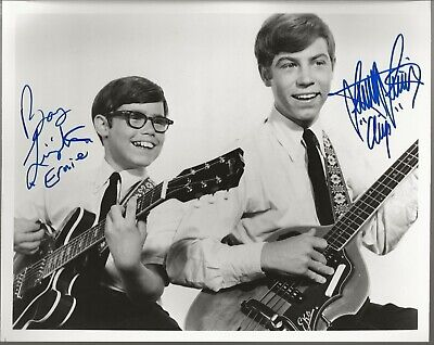 Stanley & Barry Livingston Chip & Ernie My Three Sons Autograph Auto 8X10 (10 Livingston)