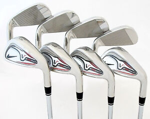 NEW-Nike-Victory-Red-VR-Pro-Cavity-2011-4-PW-AW-Irons-Steel-Regular-R-699-99