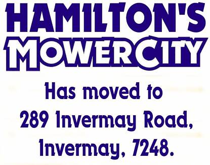 Hamilton's Mower City has moved!! Invermay Launceston Area Preview