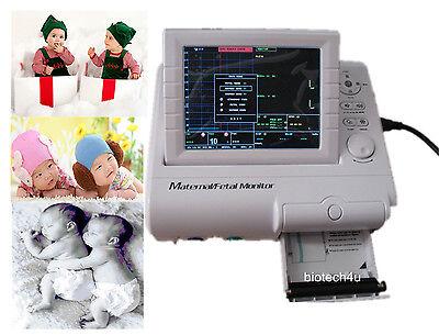 Maternalfetal Patient Monitor Fhrtocoecgnibpspo2 Cms800f 8.4 Color Tft