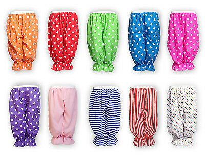 Damen Fancy Dress (CHILD Fancy Dress BLOOMERS Polka Dot Pants Rag Doll Panto DAME Costume Clown UK)
