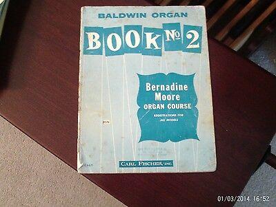 - Bernadine Moore Organ Course, Baldwin Organ No. 8 (Fischer)