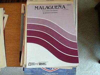Ernesto Lecuona:  Malaguena, piano solo (Marks)