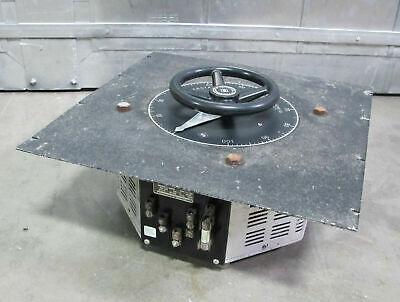 Superior Powerstat 1256d Variable Transformer 7.8 Kva 28a Input 240v Out 0-280v