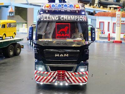 Truck Tamiya MAN TGX 1:14 Scheibengitter Steinschlagschutz Muster / Version