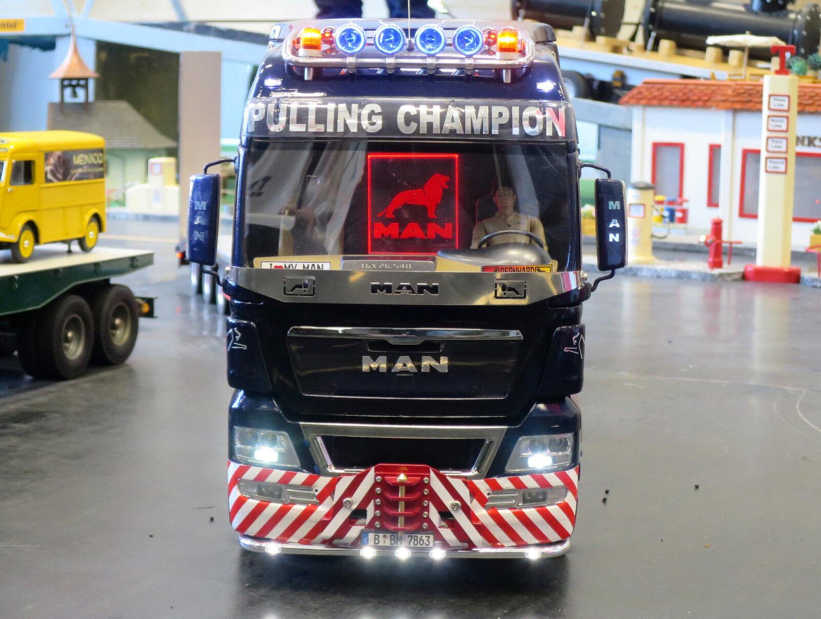 Lenkachse für Tamiya LKW Truck 1:14 MAN Volvo Mercedes Scania