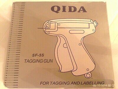 Qida Clothes Tagging Gun Set Bnwt W Plastic Price Tag Holders 6 Needles