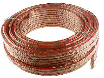 10 GAUGE 50' FEET SPEAKER WIRE FOR  HOME/CAR FAST FREE USA SHIPPING 10AWG on Rummage