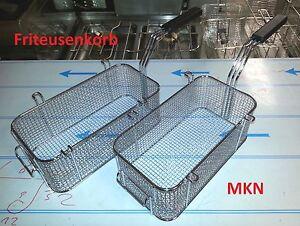 2 Stück MKN Friteusenkorb für Optima Counter +++ Fritteusenkorb Fritierkorb