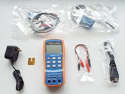 TH2822C PORTABLE handheld Pro LCR 0.3% up to 100Khz ESR METER TESTER -