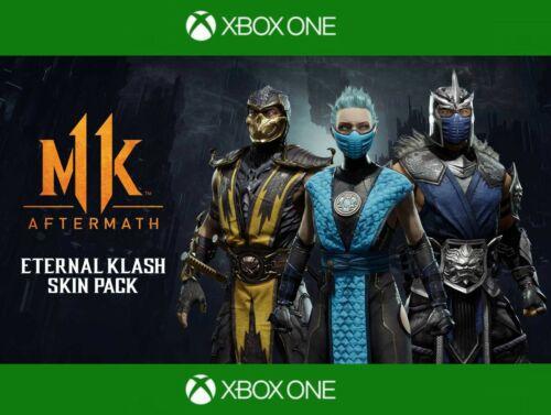 Xbox One Mortal Kombat 11 Aftermath - Eternal Klash Skin Pack DLC, NO GAME