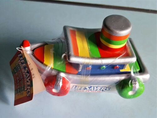 LifeSavers Candy Ceramic Boat - New With Tag & Wrapped