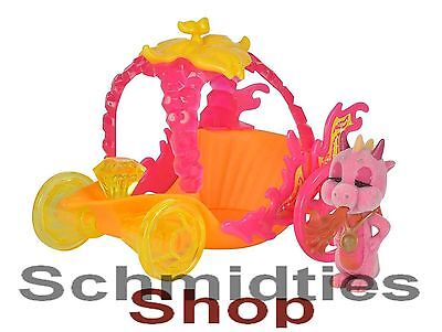 Safiras Drachen II - Funkelstein - Festwagen (Orange) mit der zugehörigen Figur!