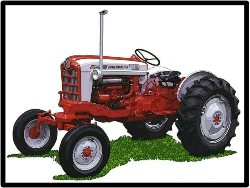 Ford Tractors New Metal Sign: Model 961 Power Master Featured