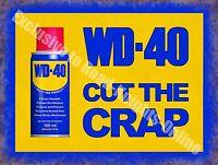Wd-40 Vintage Garaje Publicidad Aceite Coche Moto Vertiente Pared Medio Metal / -  - ebay.es