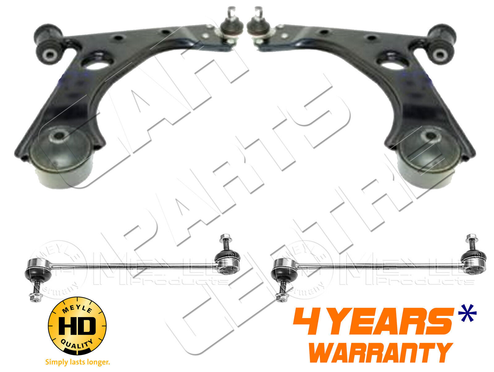 FOR HONDA CIVIC FK FN FRONT LOWER SUSPENSION WISHBONE ARMS HEAVY DUTY LINKS