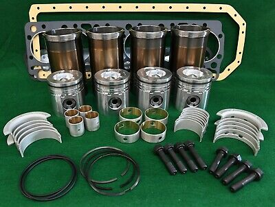 Pbk466 N844lt-d Shibaura Inframe Overhaul Engine Kit 410 Dx55 Sk175 Sv185 St450