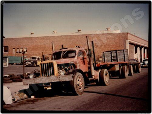 1956 Dart Trucks New Metal Sign: Tandem Trailers w Truck That