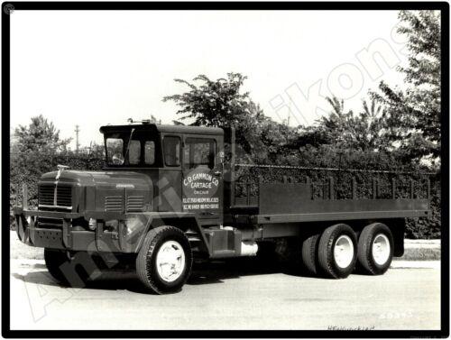 Hendrickson Trucks New Metal Sign: C. D. Gammon Cartage - Chicago, Illinois