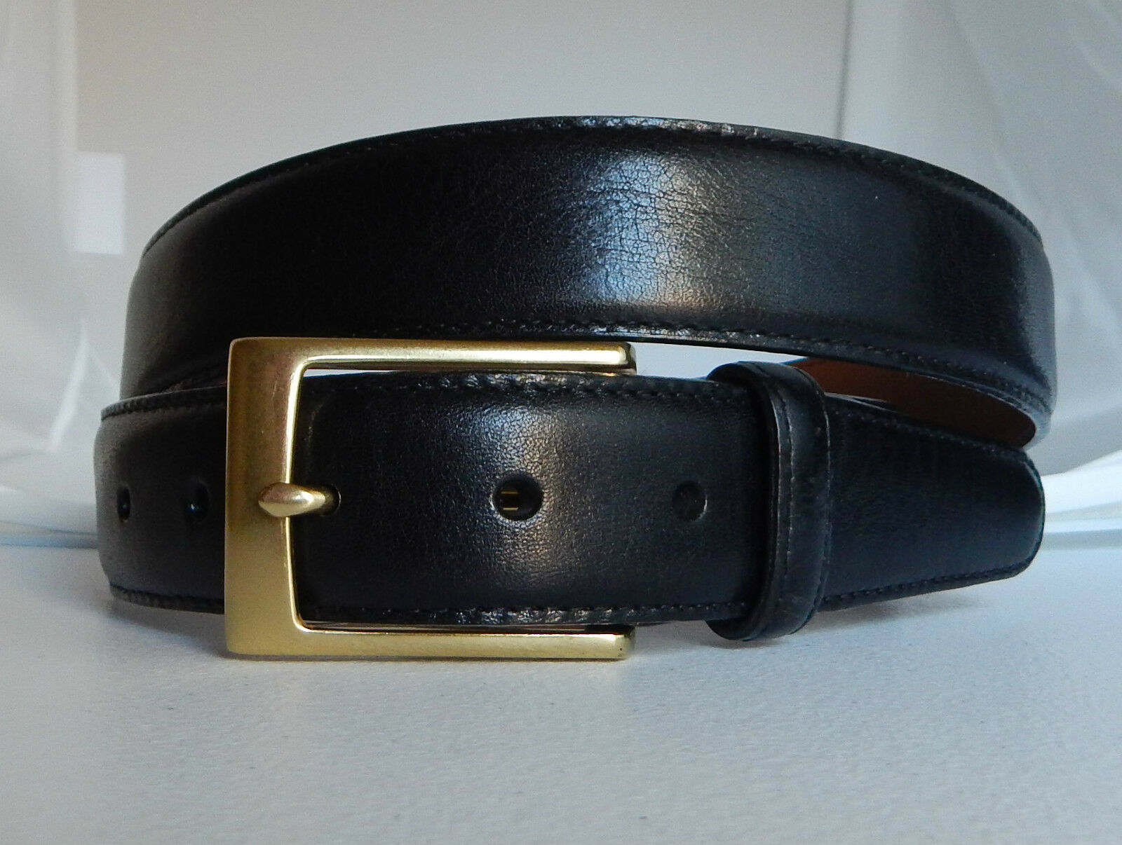 Brighton New DANTE MADRAS Leather Belt Size 40  Made in USA