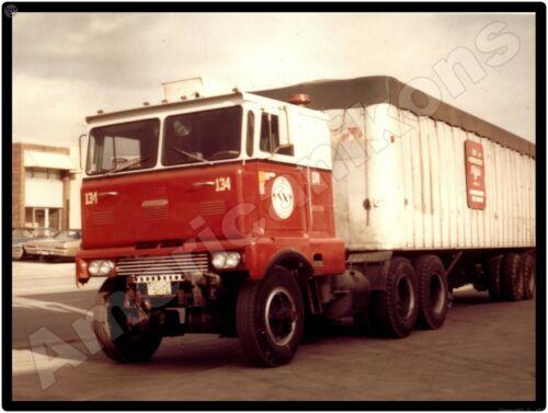 Hendrickson Trucks New Metal Sign: COE Model Tractor Trailer Pictured