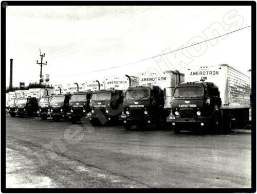 White Motor Trucks New Metal Sign: White 3000 Amerotron Tractor Trailer Fleet