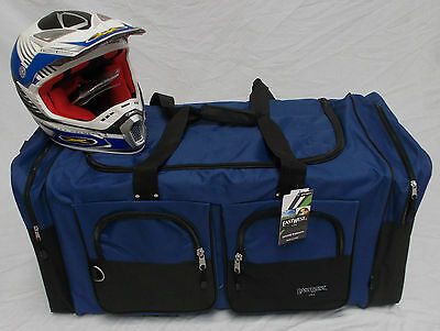 XL Moto x atv gear bag motocross off road mx  Yamaha royal blue