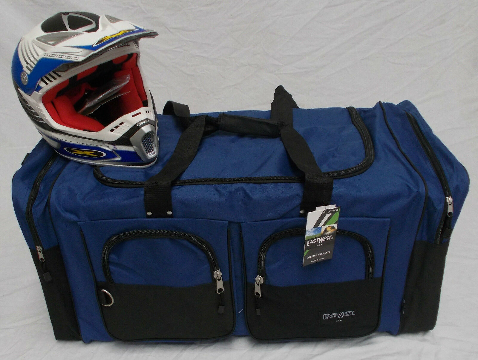 XL Moto x atv gear bag motocross off road mx  Yamaha royal blue