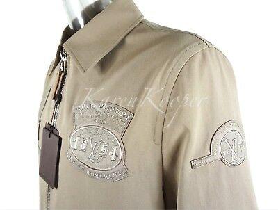 NEW LOUIS VUITTON MEN VvV PATCH GASTON JACKET COAT BLOUSON 56 XXL 52 / XL