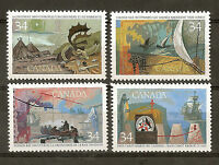 Canadá : 1986 ( Exploration Of Canada Discoverers - Complete Set ) Mnh - complete - ebay.es